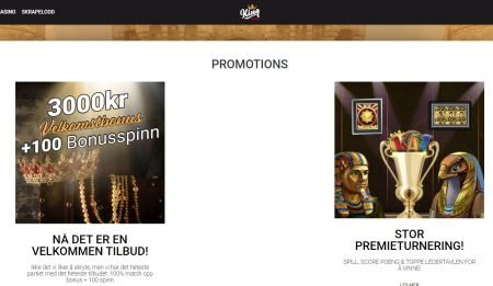 kampanjer hos king casino