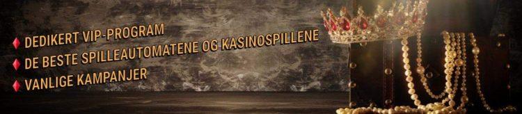 lojalitetsprogram og spill hos king casino
