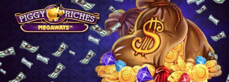 piggy riches megaways slot fra netent