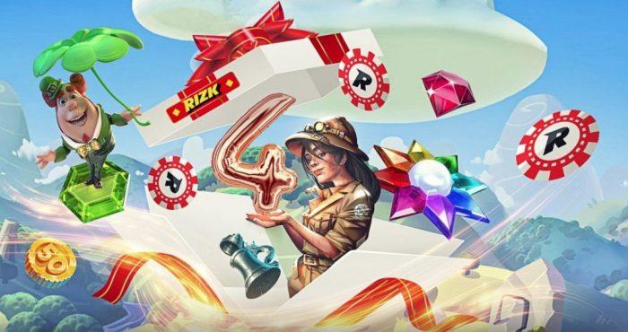 rizk casino 4 year promo