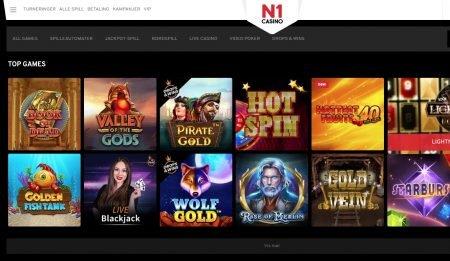 spillutvalg hos n1 casino