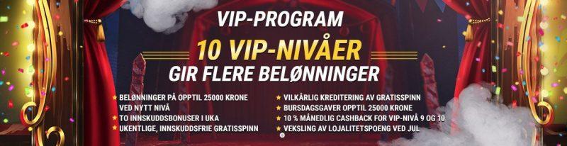 vip program hos fastpay casino