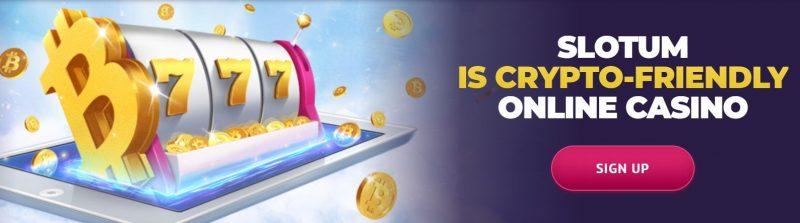 bitcoins hos slotum casino