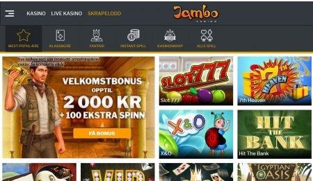 jambo casino skrapelodd