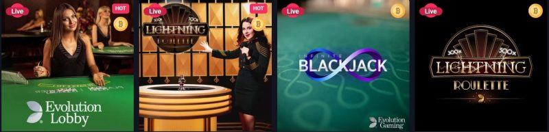 live casino spill hos woo