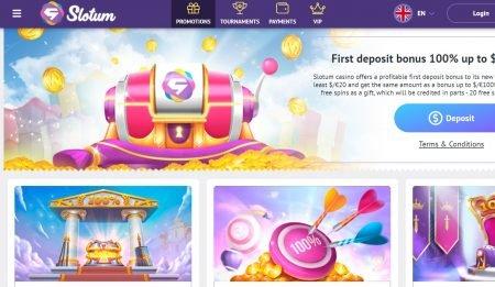 slotum casino kampanjer