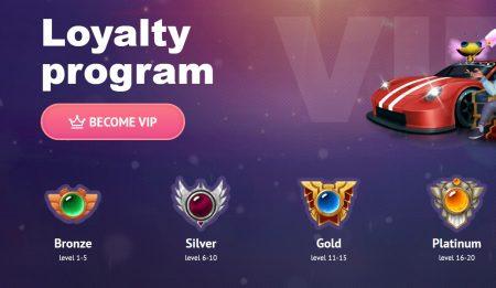 solid lojalitetsprogram hos slotum casino