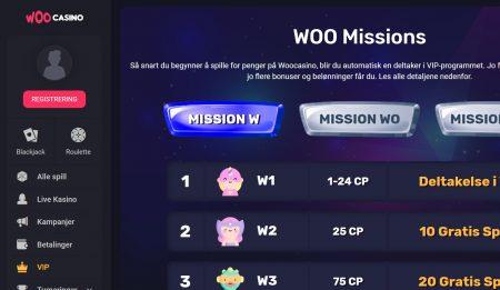 woo casino vip program
