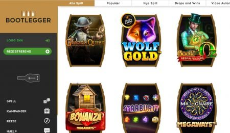 bootlegger casino spillutvalg