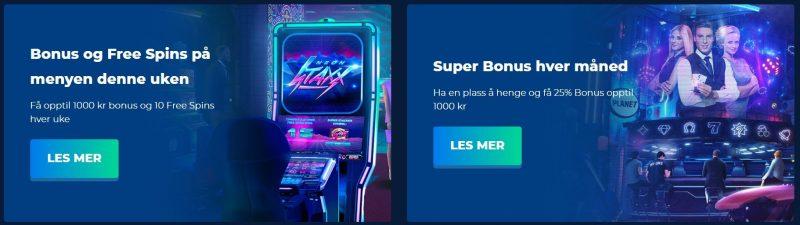 casino planet kampanjer