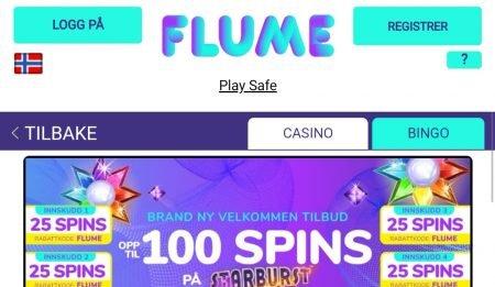 Flume casino velkomstbonus