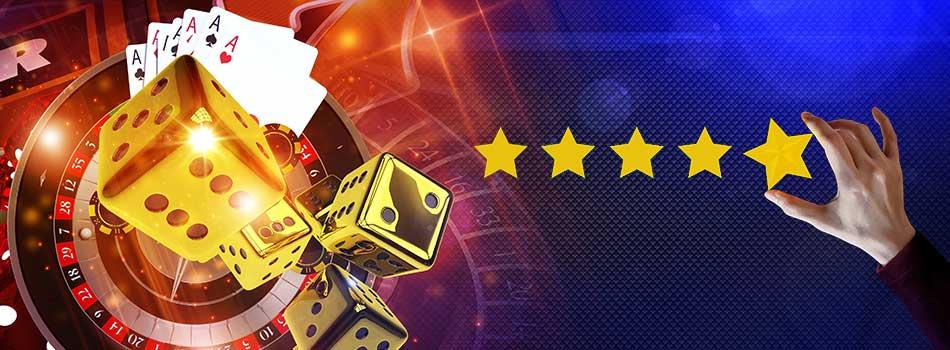 vurderinger av casinoer på casinotopplisten