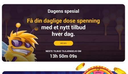 bee spins casino omtale 3