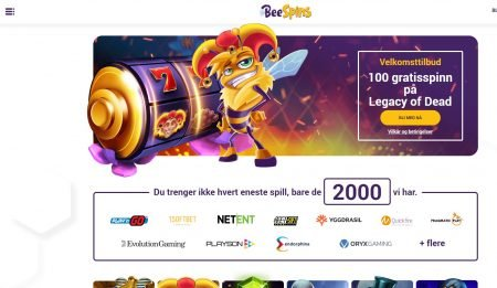 bee spins casino omtale