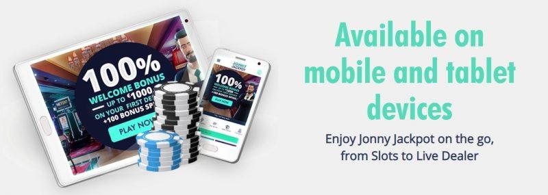 jonny jackpot mobil