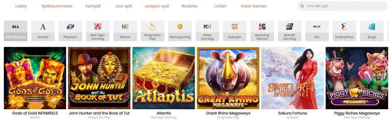 spillutvalg betsedge casino