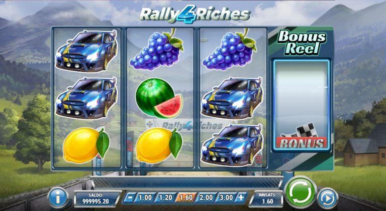 Rally 4 Riches casinotopplisten