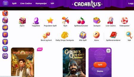 cadabrus casino omtale