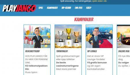 play jango casino kampanjer