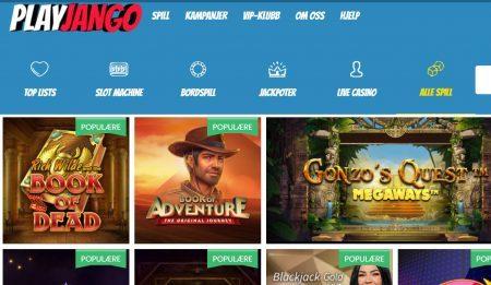 play jango casino omtale