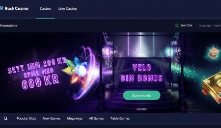 rush casino norge omtale