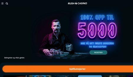 rush casino omtale