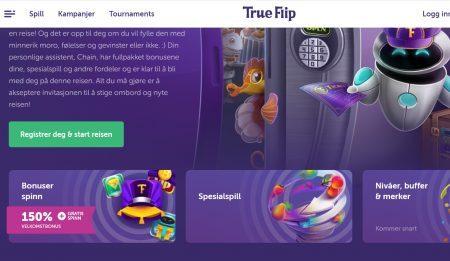 true flip casino kampanjer