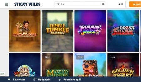 stickywilds Casino omtale 1