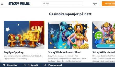 stickywilds Casino omtale 2