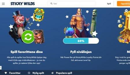stickywilds Casino omtale 4