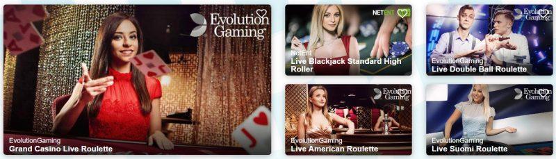 turbovegas casino spilleautomater og spill på live casino