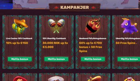 5gringos casino kampanjer og bonuser