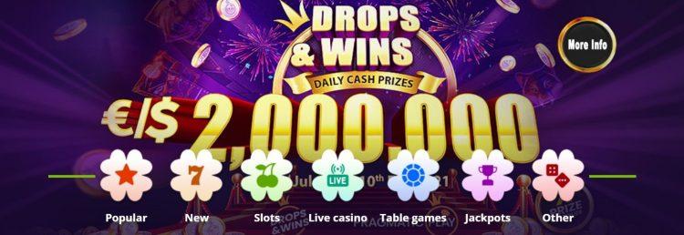 betpat casino bonuser