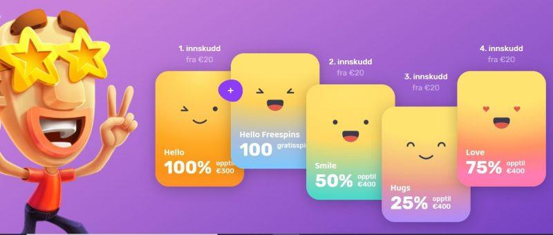 emojino casino kampanjer