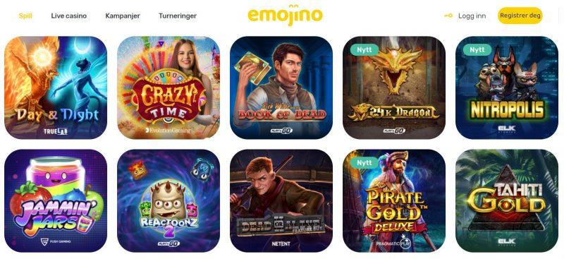emojino casino spill