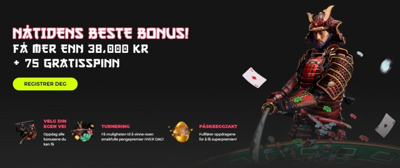 spin samurai bonuser