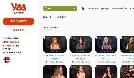 yaa live casino