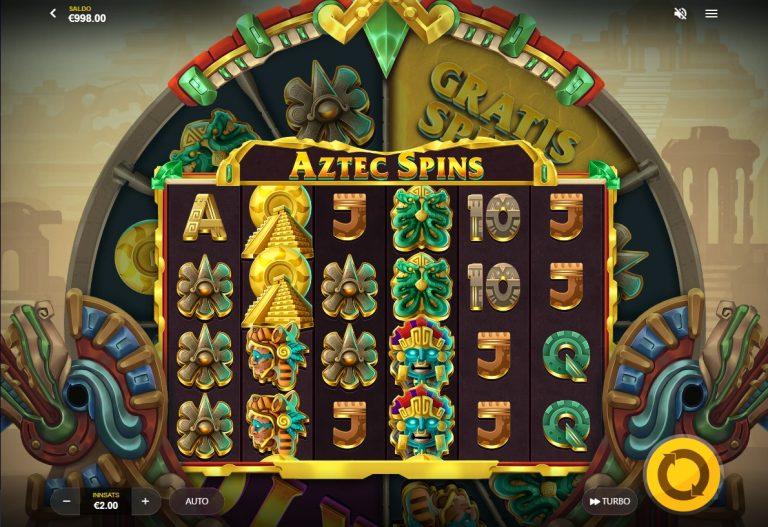 Aztec Spins casinotopplisten