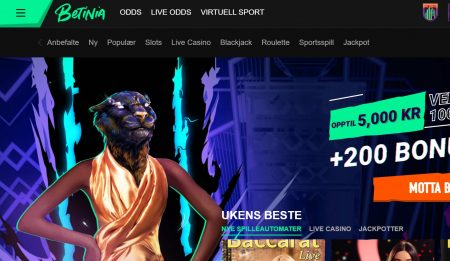 betinia odds omtale