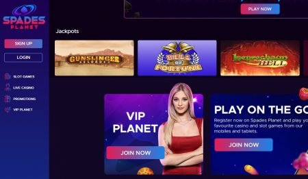 spades planet casino omtale