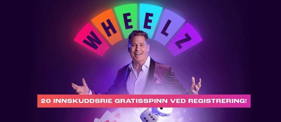 casino bonus uten innskudd hos wheelz