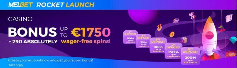 melbet casino bonus