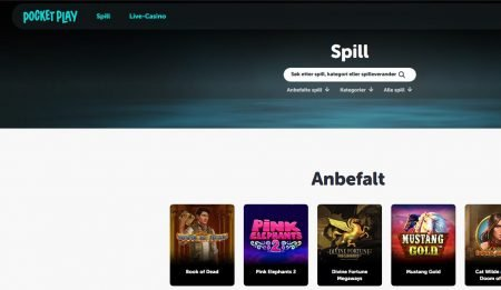 pocket play casino norge omtale