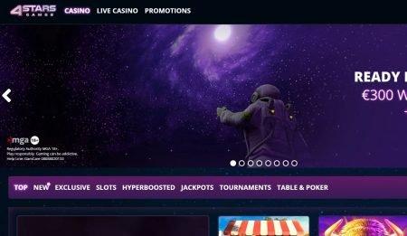 4StarsGames Casino omtale