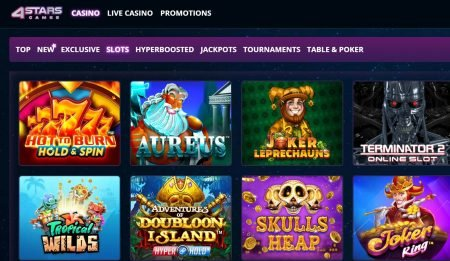 4StarsGames Casino omtale norge 2
