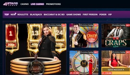 4StarsGames Casino omtale norge 3
