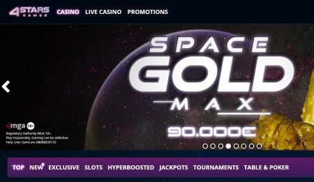 4StarsGames Casino omtale norge