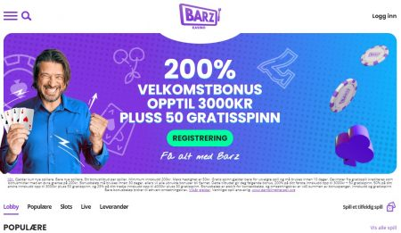 barz casino norge omtale