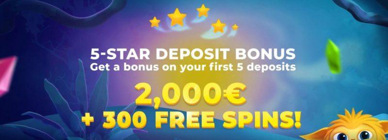 betvili casino norge bonus