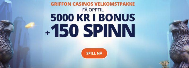 griffon casino norge bonus